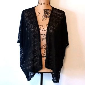 SO American Heritage Black Cover-up Cardigan